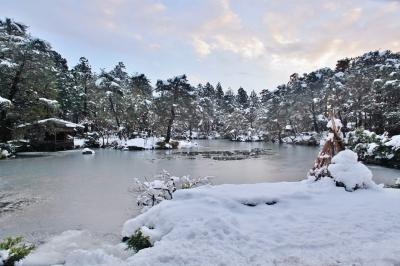 ~ 清水園 12/6の雪景色 ~_e0135219_16014764.jpg