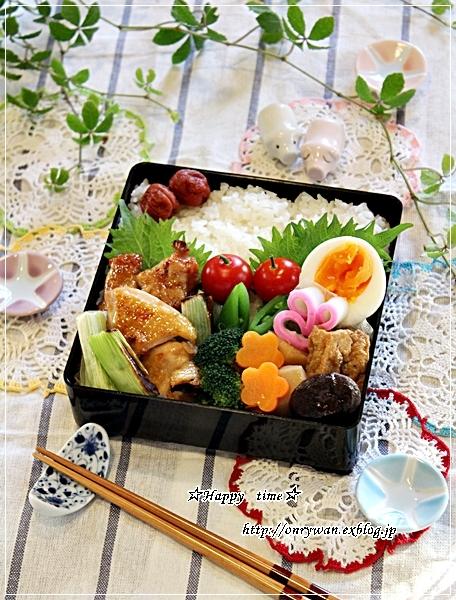 焼きとり弁当と今週の作りおき♪_f0348032_17503847.jpg