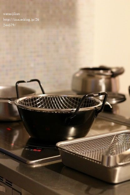 ラバーゼの鉄揚げ鍋セットで、揚げ物を楽しく_e0214646_22202302.jpg