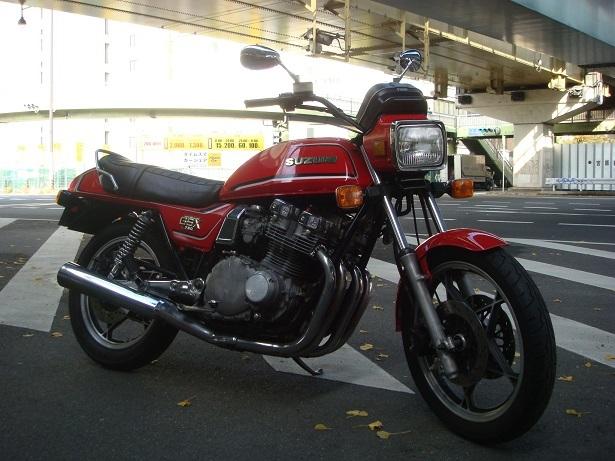 1981 GSX750E-2 試走_c0153300_11031597.jpg