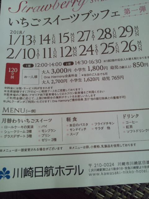 川崎日航ホテル 夜間飛行 冬の贈り物スイーツブッフェ_f0076001_22261152.jpg