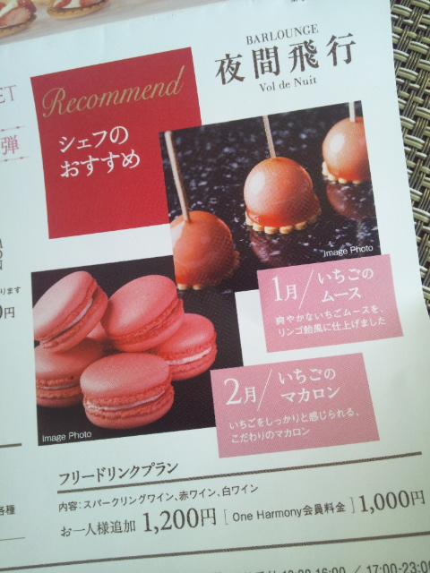 川崎日航ホテル 夜間飛行 冬の贈り物スイーツブッフェ_f0076001_22262994.jpg