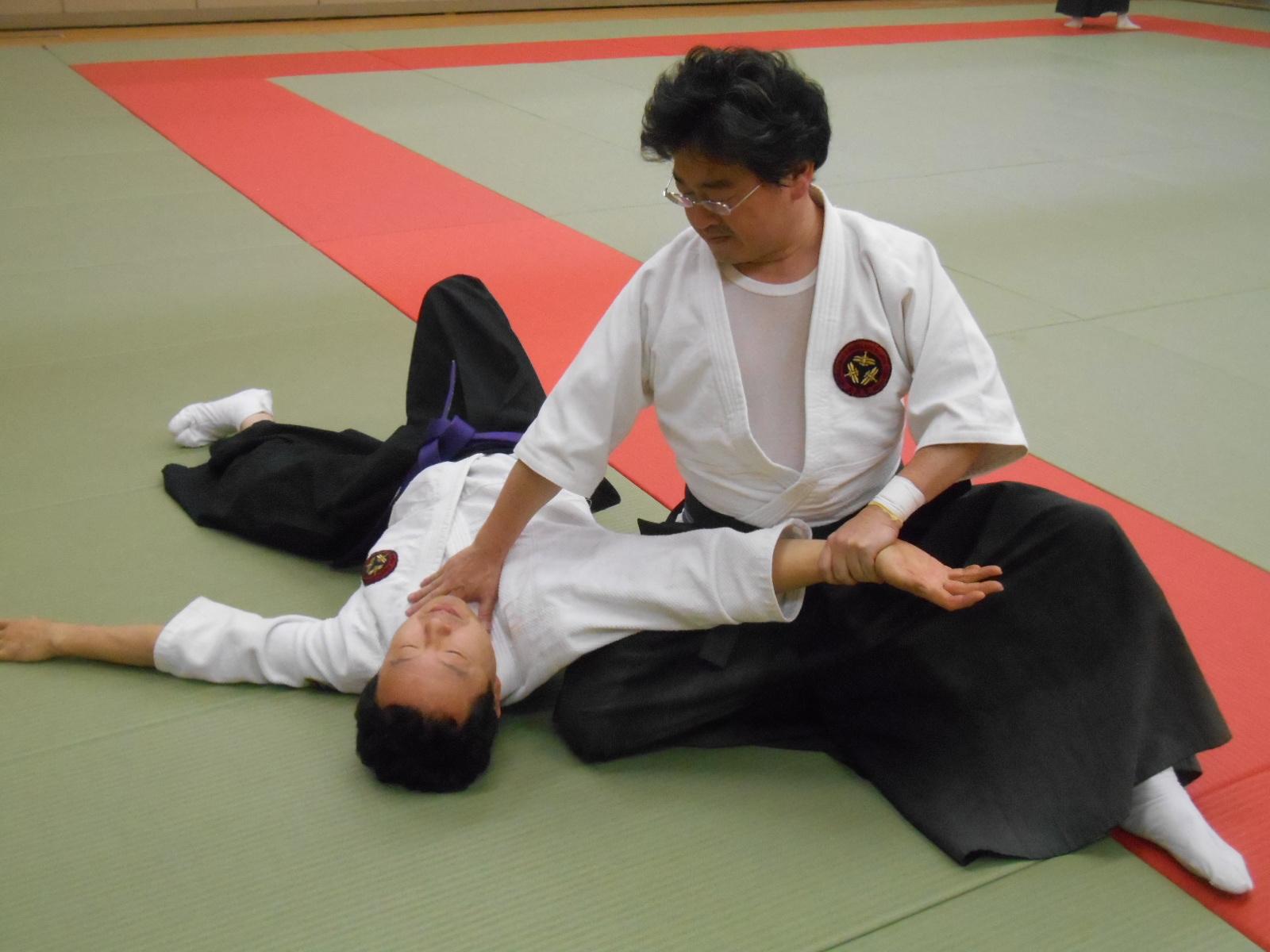 技法「ためる」 : 国際水月塾武術協会 International Suigetsujuku ...