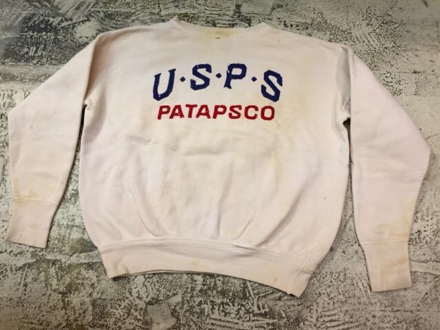 12月13日(水)大阪店ヴィンテージ入荷日!!#4 アスレチック編!!VintageSweat&Lettered Sweater!!_c0078587_14132192.jpg