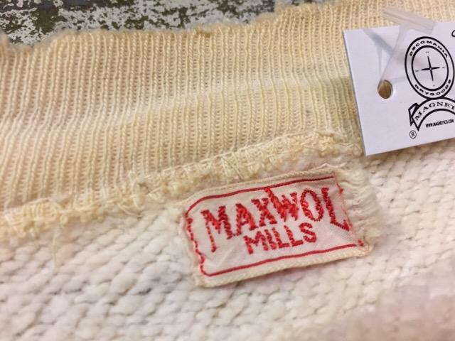 12月13日(水)大阪店ヴィンテージ入荷日!!#4 アスレチック編!!VintageSweat&Lettered Sweater!!_c0078587_14134747.jpg