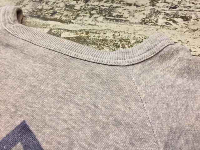 12月13日(水)大阪店ヴィンテージ入荷日!!#4 アスレチック編!!VintageSweat&Lettered Sweater!!_c0078587_14154693.jpg