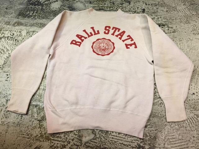 12月13日(水)大阪店ヴィンテージ入荷日!!#4 アスレチック編!!VintageSweat&Lettered Sweater!!_c0078587_14162110.jpg