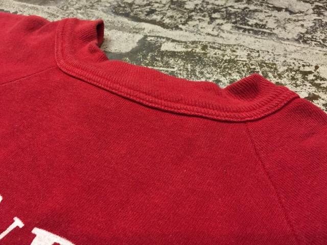 12月13日(水)大阪店ヴィンテージ入荷日!!#4 アスレチック編!!VintageSweat&Lettered Sweater!!_c0078587_16143422.jpg