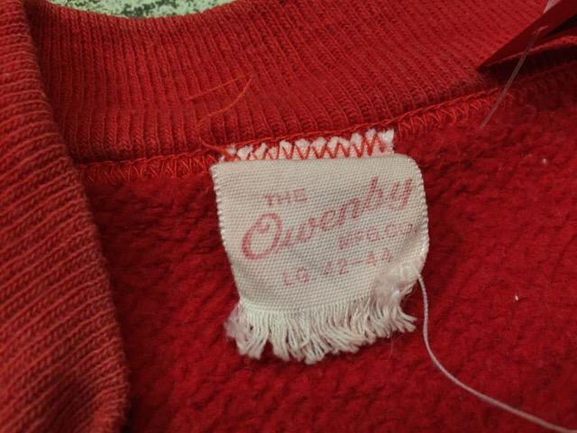 12月13日(水)大阪店ヴィンテージ入荷日!!#4 アスレチック編!!VintageSweat&Lettered Sweater!!_c0078587_16145871.jpg
