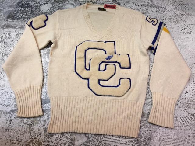 12月13日(水)大阪店ヴィンテージ入荷日!!#4 アスレチック編!!VintageSweat&Lettered Sweater!!_c0078587_1621134.jpg