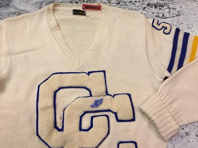 12月13日(水)大阪店ヴィンテージ入荷日!!#4 アスレチック編!!VintageSweat&Lettered Sweater!!_c0078587_16212767.jpg