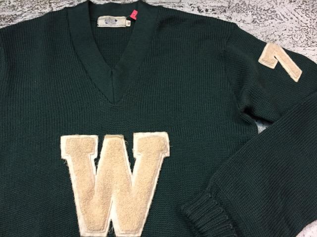 12月13日(水)大阪店ヴィンテージ入荷日!!#4 アスレチック編!!VintageSweat&Lettered Sweater!!_c0078587_1622248.jpg