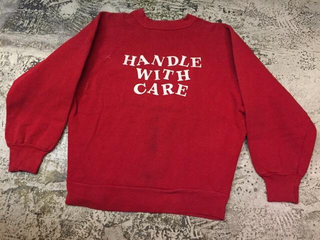 12月13日(水)大阪店ヴィンテージ入荷日!!#4 アスレチック編!!VintageSweat&Lettered Sweater!!_c0078587_1622641.jpg