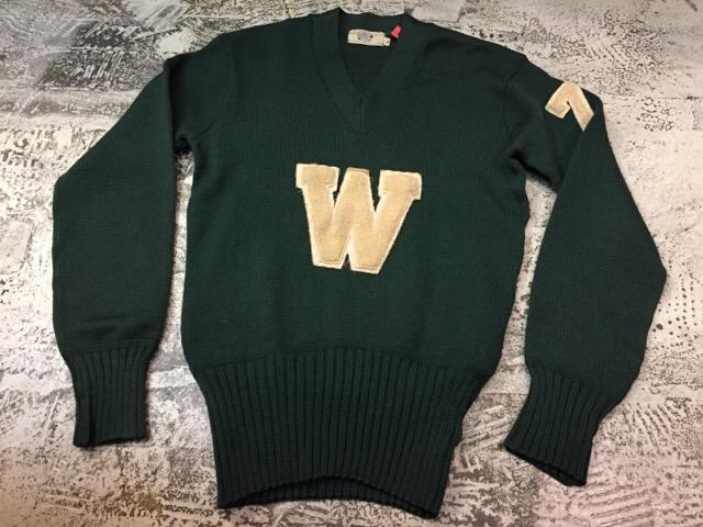 12月13日(水)大阪店ヴィンテージ入荷日!!#4 アスレチック編!!VintageSweat&Lettered Sweater!!_c0078587_1622922.jpg