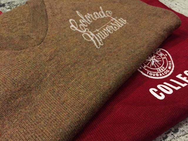12月13日(水)大阪店ヴィンテージ入荷日!!#4 アスレチック編!!VintageSweat&Lettered Sweater!!_c0078587_21243145.jpg