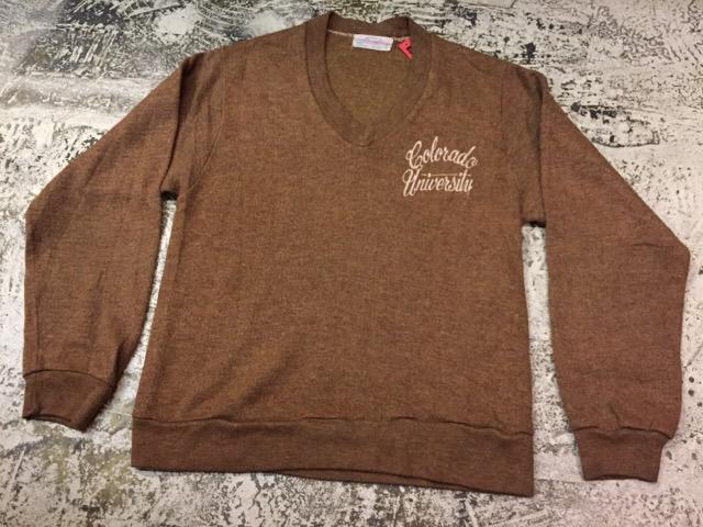 12月13日(水)大阪店ヴィンテージ入荷日!!#4 アスレチック編!!VintageSweat&Lettered Sweater!!_c0078587_21244023.jpg