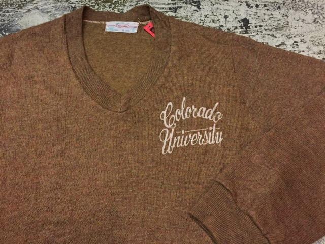 12月13日(水)大阪店ヴィンテージ入荷日!!#4 アスレチック編!!VintageSweat&Lettered Sweater!!_c0078587_21245381.jpg