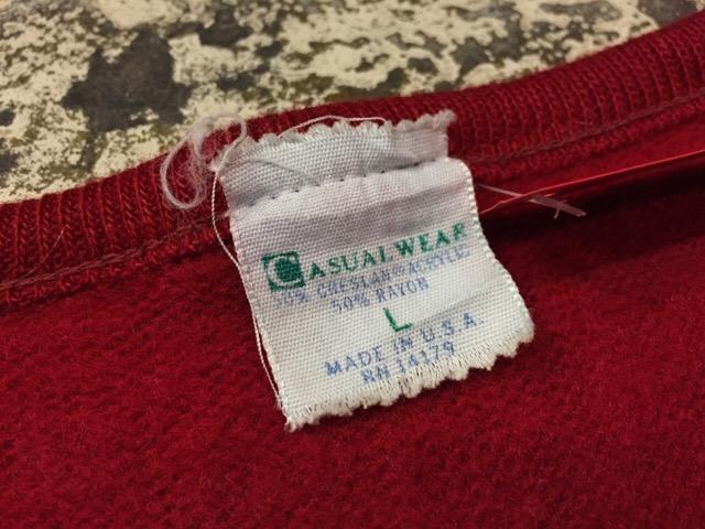 12月13日(水)大阪店ヴィンテージ入荷日!!#4 アスレチック編!!VintageSweat&Lettered Sweater!!_c0078587_21252225.jpg