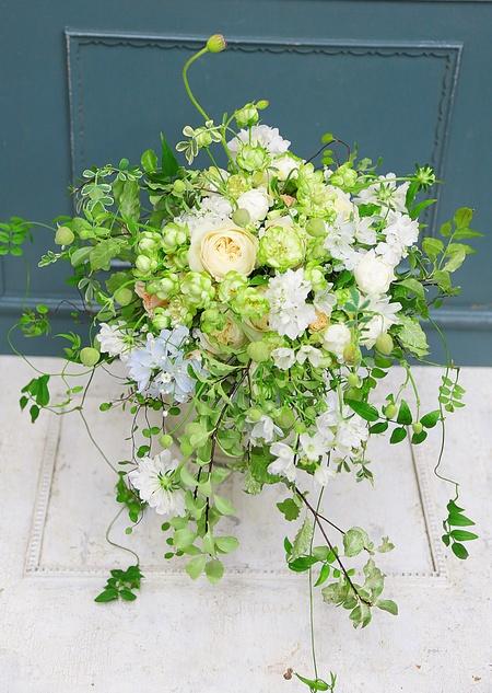 手作りのブーケ、生花とプリザーブドと造花の比較_a0042928_10344015.jpg