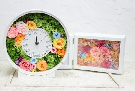 手作りのブーケ、生花とプリザーブドと造花の比較_a0042928_10525565.jpg