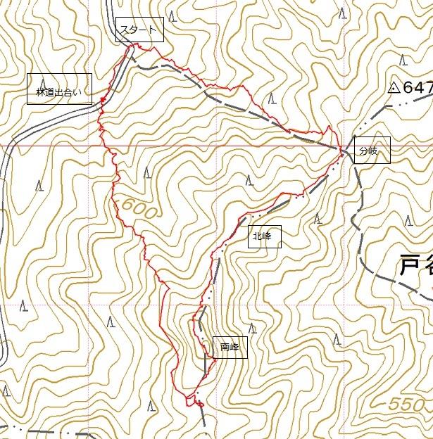 戸谷ヶ岳・熊ヶ畑山へ_e0164643_13112910.jpg