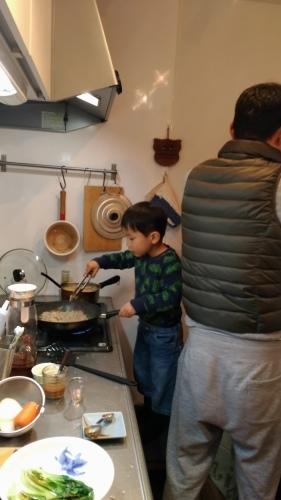 男達の手料理_e0035344_20471223.jpg