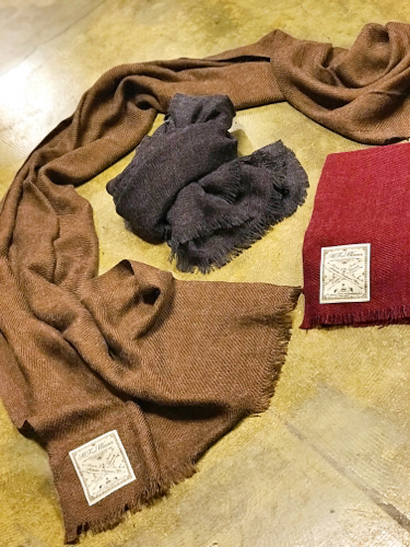 """【H.F and Weaver】\""""Stole\""""_d0227059_09210919.jpg"""