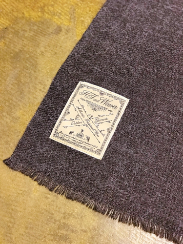 """【H.F and Weaver】\""""Stole\""""_d0227059_09232019.jpg"""