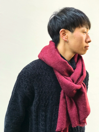 """【H.F and Weaver】\""""Stole\""""_d0227059_09241510.jpg"""