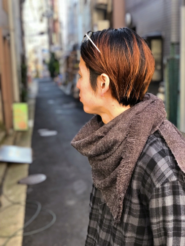 """【H.F and Weaver】\""""Stole\""""_d0227059_09245985.jpg"""