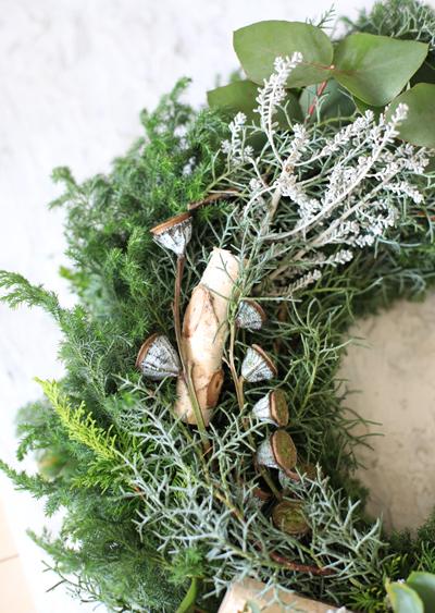 Christmas wreath 2017 ♪_d0113182_13365722.jpg