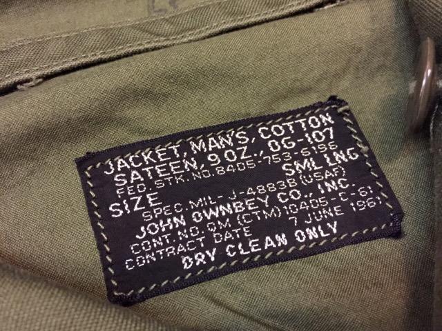 12月13日(水)大阪店ヴィンテージ入荷日!!#6 Military編Part3!!USAF&USMC&ARMY!!_c0078587_1483775.jpg