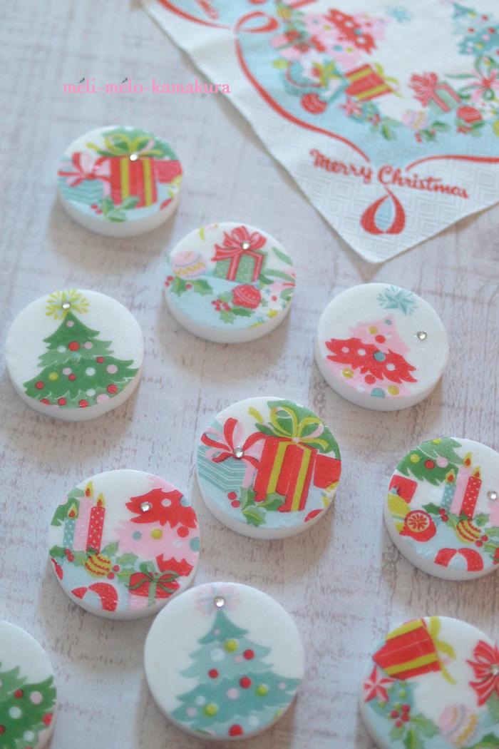 ◆デコパージュ*キャスキッドソンのクリスマス石けんたくさん♪_f0251032_21505908.jpg