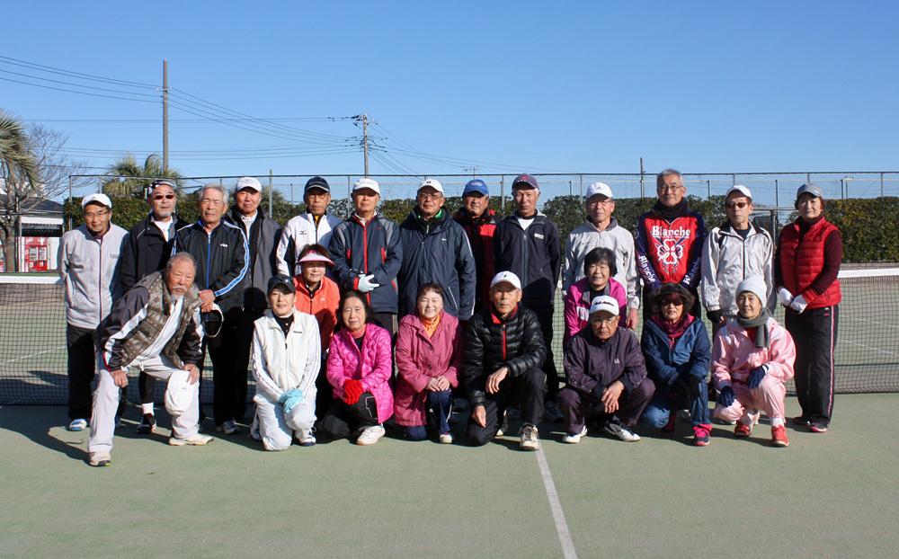 シニアテニスクラブの忘年合宿_b0114798_18485764.jpg