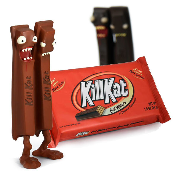 Kill Kat Milk Chocolate Edition by Andrew Bell_e0118156_22292549.jpg