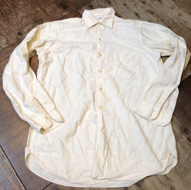 12月16日(土)入荷!50s ARROW マチ付き Oxford B.D shirts!_c0144020_16304304.jpg