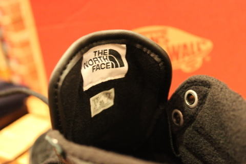 "待望入荷! 「THE NORTH FACE × VANS」 ""SK8-HI 46 MTE DX\"" ご紹介_f0191324_07562642.jpg"