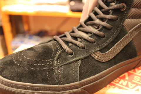 "待望入荷! 「THE NORTH FACE × VANS」 ""SK8-HI 46 MTE DX\"" ご紹介_f0191324_07572448.jpg"