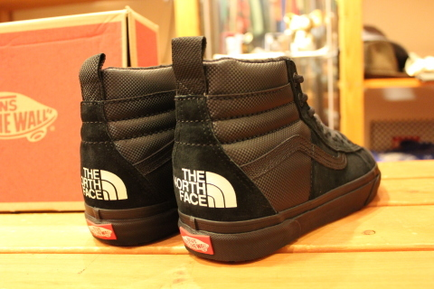 "待望入荷! 「THE NORTH FACE × VANS」 ""SK8-HI 46 MTE DX\"" ご紹介_f0191324_07574206.jpg"