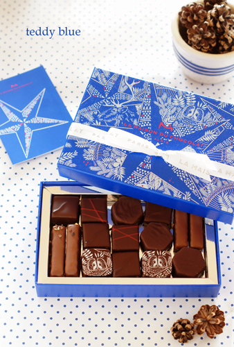 LA MAISON DU CHOCOLAT ラ・メゾン・デュ・ショコラ ブルークリスマス_e0253364_20533863.jpg