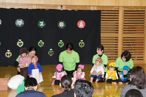 【西新宿園】クリスマス会_a0267292_16325496.jpg