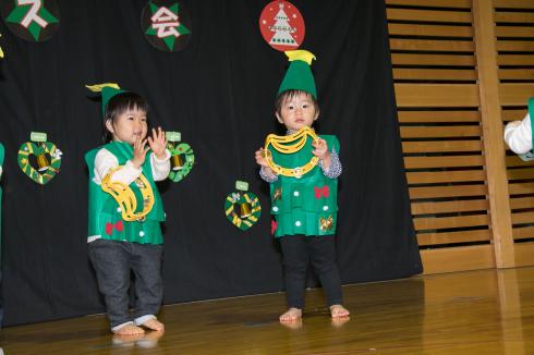 【西新宿園】クリスマス会_a0267292_16363841.jpg