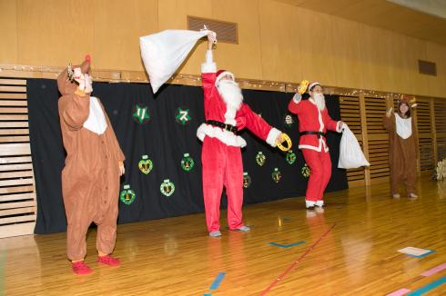 【西新宿園】クリスマス会_a0267292_16414629.jpg