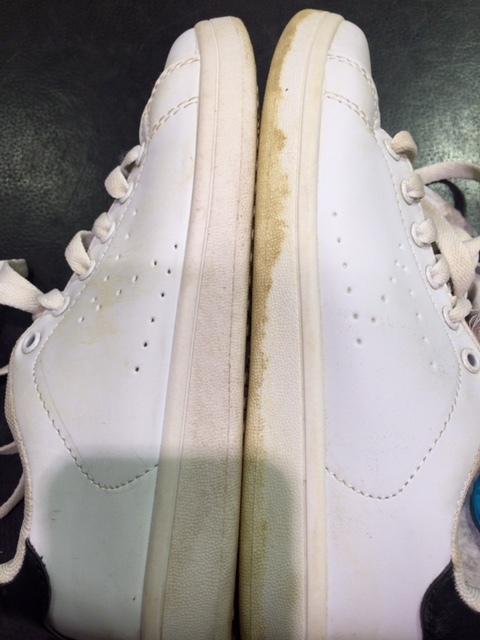 スニーカーに付いた、頑固な汚れは_b0226322_10483689.jpg