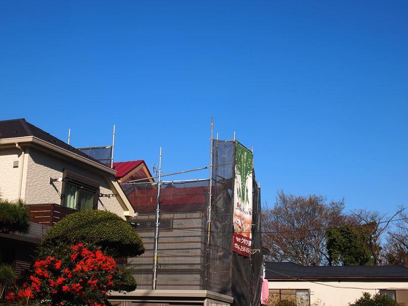 原町田の家☆赤い屋根見えた~~_c0152341_08474535.jpg