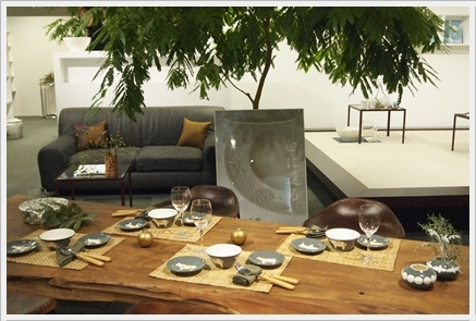 松尾摂子さんの器でクリスマスの1日をテーブルコーディネート ~空間コーディネートクラス_d0217944_22273439.jpg