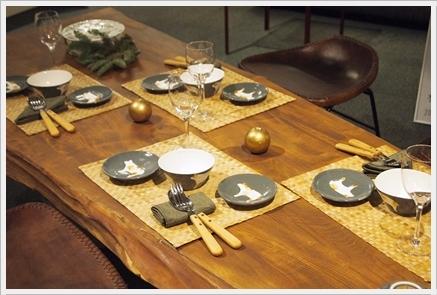 松尾摂子さんの器でクリスマスの1日をテーブルコーディネート ~空間コーディネートクラス_d0217944_22300303.jpg