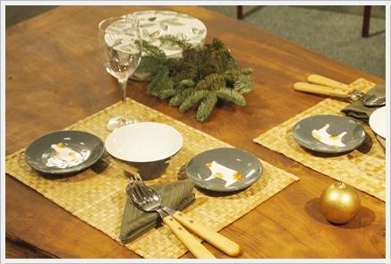 松尾摂子さんの器でクリスマスの1日をテーブルコーディネート ~空間コーディネートクラス_d0217944_22301155.jpg