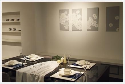 松尾摂子さんの器でクリスマスの1日をテーブルコーディネート ~空間コーディネートクラス_d0217944_22564274.jpg