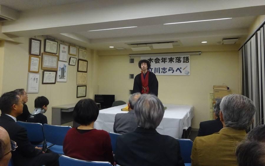 神田で恒例の落語と忘年会_f0059673_11172129.jpg